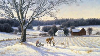 First Snow by Randy Van Beek art print