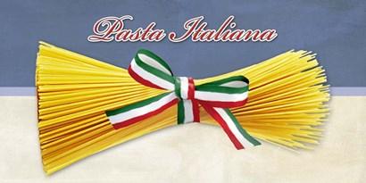 Pasta Italiana by Remo Barbieri art print