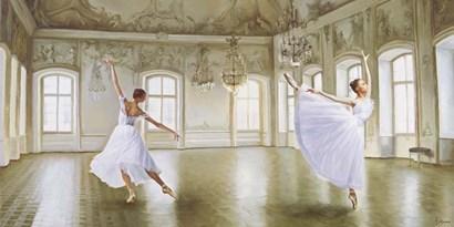 Le Grand Salon by Pierre Benson art print