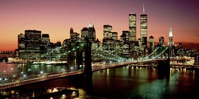 Brooklyn Bridge, NYC by Richard Berenholtz art print