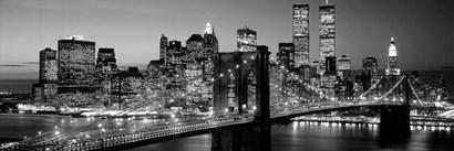 Brooklyn Bridge to Manhattan by Richard Berenholtz art print