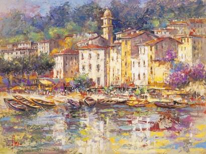 Portofino by Luigi Florio art print