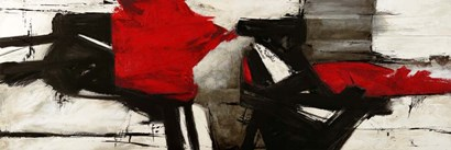 Red Profile by Jim Stone art print