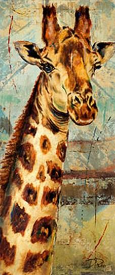 New Safari on Teal I by Patricia Pinto art print