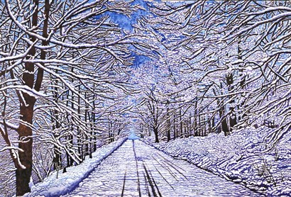 The Road Less Traveled by Thelma Winter art print