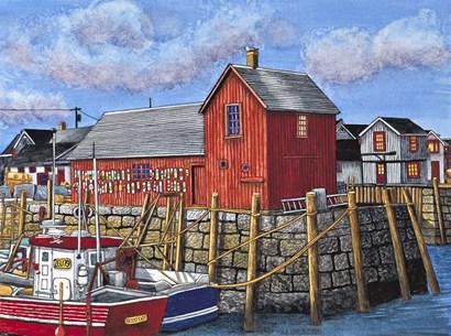 Rockport Motif I, Maine by Thelma Winter art print