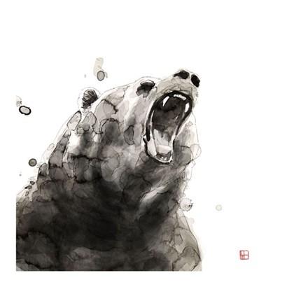 Bear by Philippe Debongnie art print