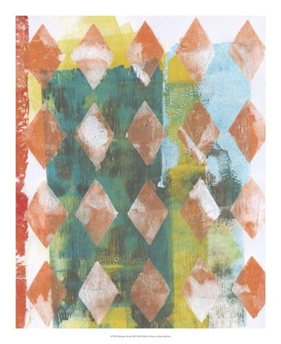 Harlequin Abstract III by Naomi McCavitt art print