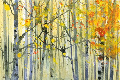 Autumn Birches by Paul Bailey art print