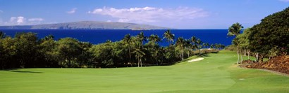Wailea Golf Club, Maui, Hawaii by Panoramic Images art print
