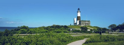 Montauk Point Lighthouse, New York by Panoramic Images art print