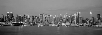 Manhattan Skyline, NYC by Richard Berenholtz art print