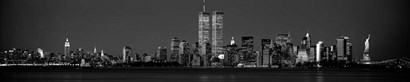 Manhattan Skyline 2001 by Richard Berenholtz art print