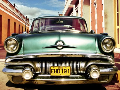Vintage American Car in Habana, Cuba by Gasoline Images art print