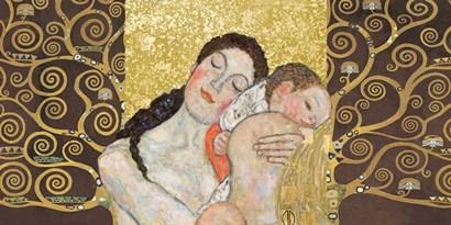 Motherhood II by Klimt Patterns art print
