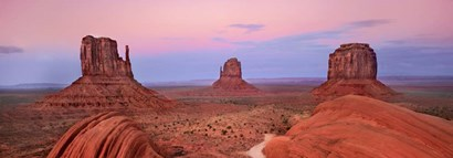 Mittens in Monument Valley, Arizona by Frank Krahmer art print