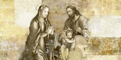 Nativity (after G. Antonio Bazzi) by Simon Roux art print