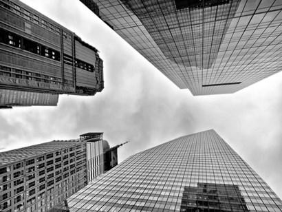 Urban View, NYC by Vadim Ratsenskiy art print