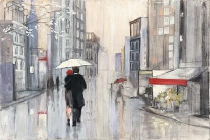 Spring Rain New York by Julia Purinton art print