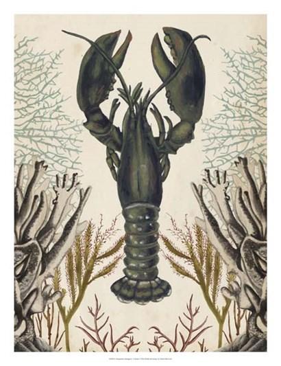 Antiquarian Menagerie - Lobster by Naomi McCavitt art print