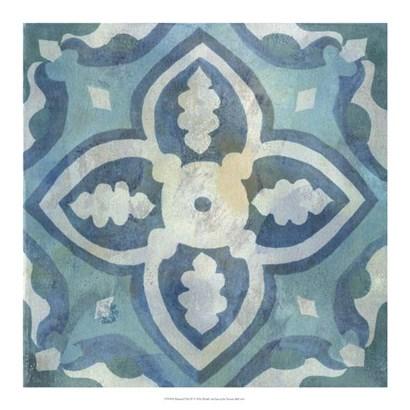 Patinaed Tile IV by Naomi McCavitt art print