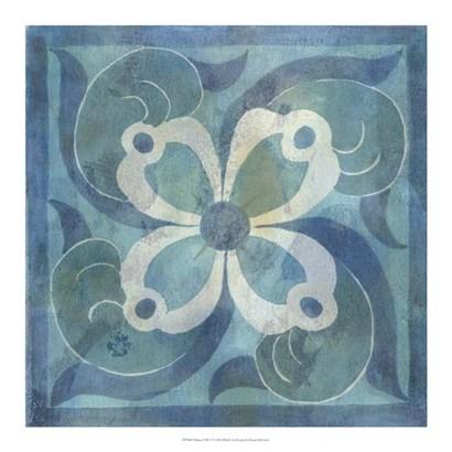 Patinaed Tile V by Naomi McCavitt art print
