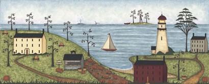Little Lighthouse by Robin Betterley art print