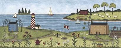 Coastal View by Robin Betterley art print