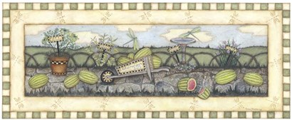Watermelons For Sale by Robin Betterley art print