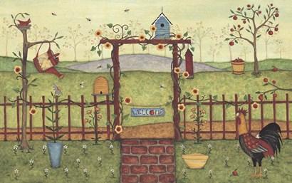Trellis by Robin Betterley art print