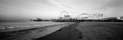 Santa Monica Pier, California by Panoramic Images art print