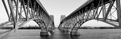 South Grand Island Bridges, NY by Panoramic Images art print