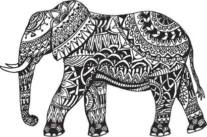 Elephant Side by Shacream Artist art print