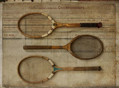 Game Set And Match by Symposium Design art print