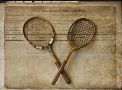 Tennis 2 by Symposium Design art print