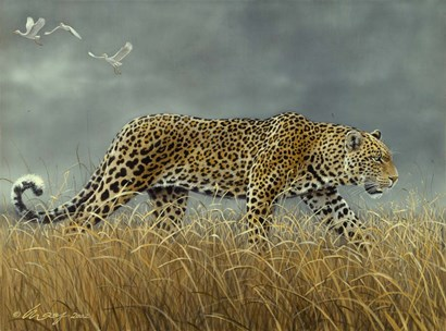 Leopard 2 by Harro Maass art print
