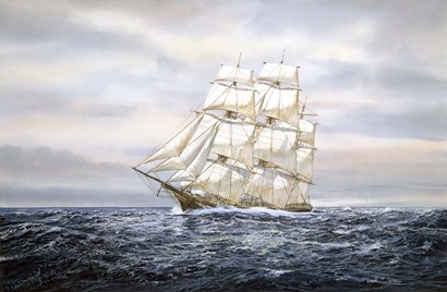 Clipper Ship by Jack Wemp art print
