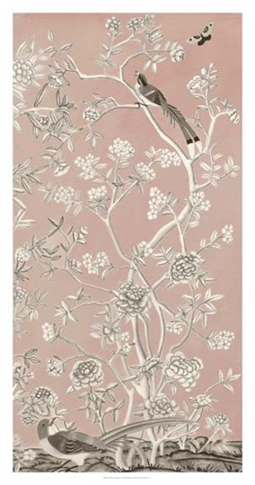Blush Chinoiserie I by Naomi McCavitt art print