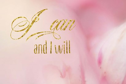 I Can and I Will by Ramona Murdock art print