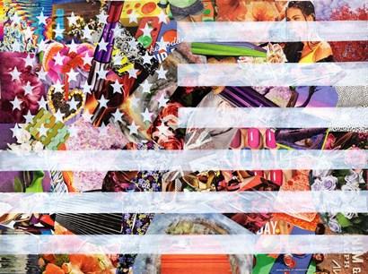 Murican Flag by Artpoptart art print