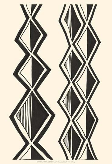 Mud Cloth Study II by Renee Stramel art print
