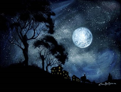 Moonage Daydream by Cherie Roe Dirksen art print