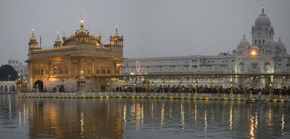 Golden Temple at Dusk, Amritsar, India by Panoramic Images art print