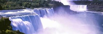 Niagara Falls, Niagara River, New York by Panoramic Images art print
