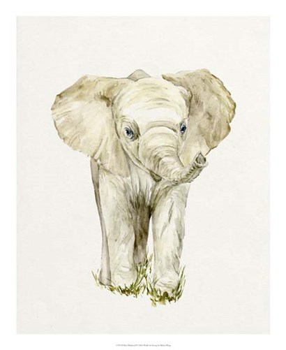 Baby Elephant II by Melissa Wang art print