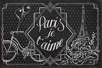 Vive Paris III by Janelle Penner art print