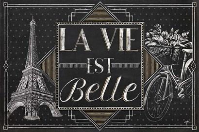 Vive Paris II by Janelle Penner art print