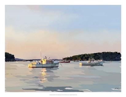 Peaceful Harbor I by Emily Kalina art print