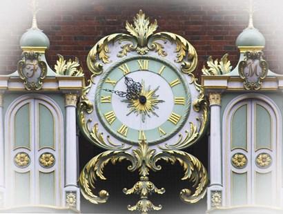 London Clock 1 by Christopher Bliss art print