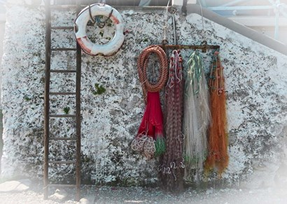Fishing Nets by Christopher Bliss art print